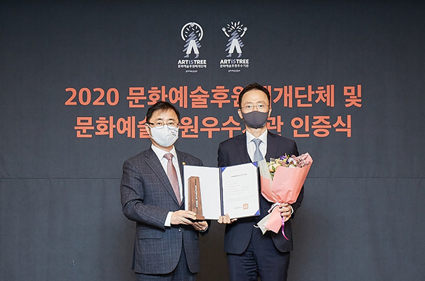 HYOSUNG certified anew as exemplary entity in provision of support for culture/arts