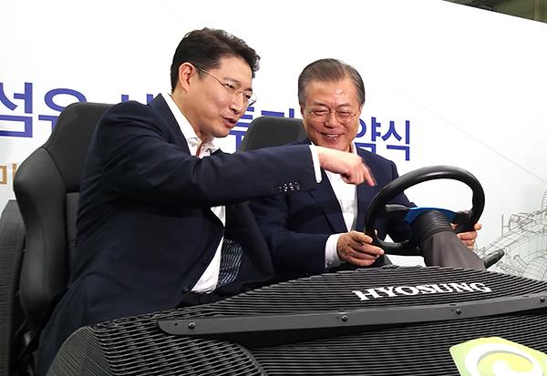"""晓星,凭借碳纤维引领""""材料强国韩国"""""""
