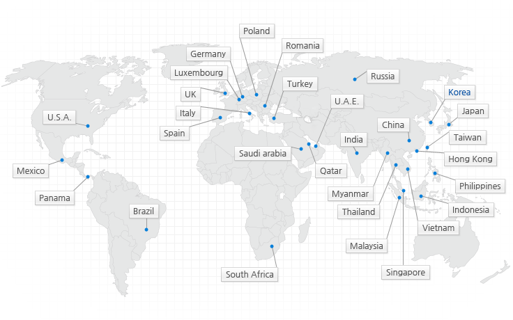 Global Network of Hyosung Group