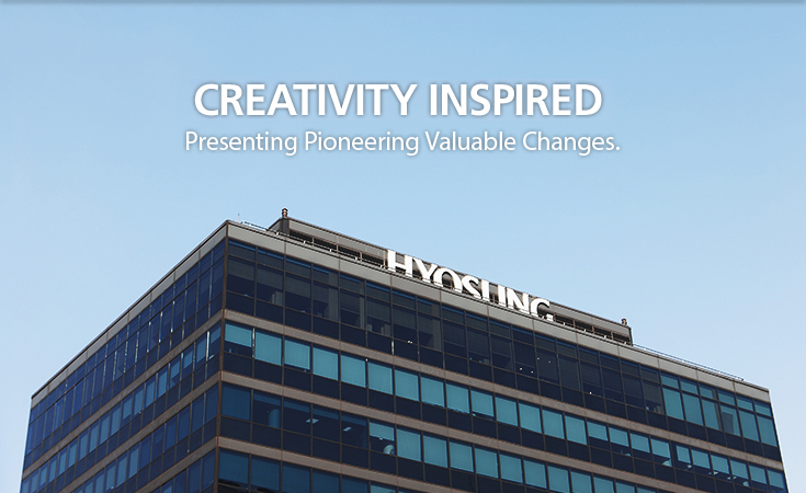 CREATIVITY INSPRIED Presenting Pioneering Valuable Changes.
