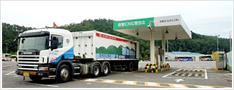 CNG Filling Stations Image