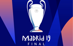 """Cheer for UEFA Champions League Final Game at Some Sevi..."