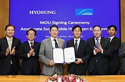 Chairman Hyun-Joon Cho to construct the wo...
